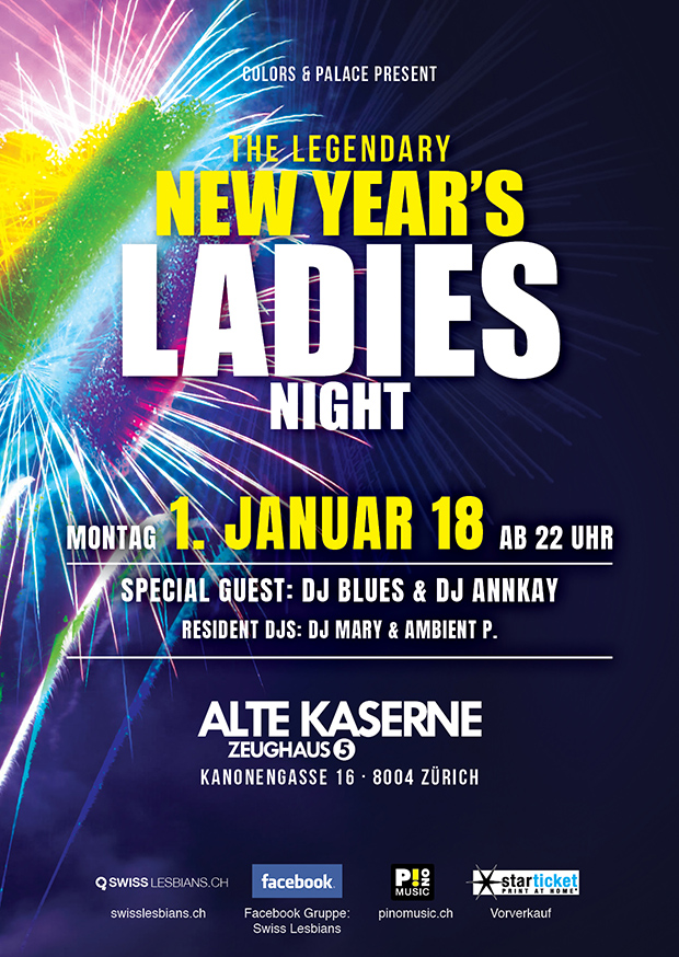 New Year's Ladies Night