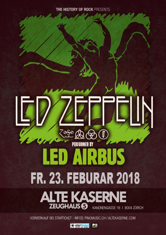 Led Airbus  plays  Led Zeppelin