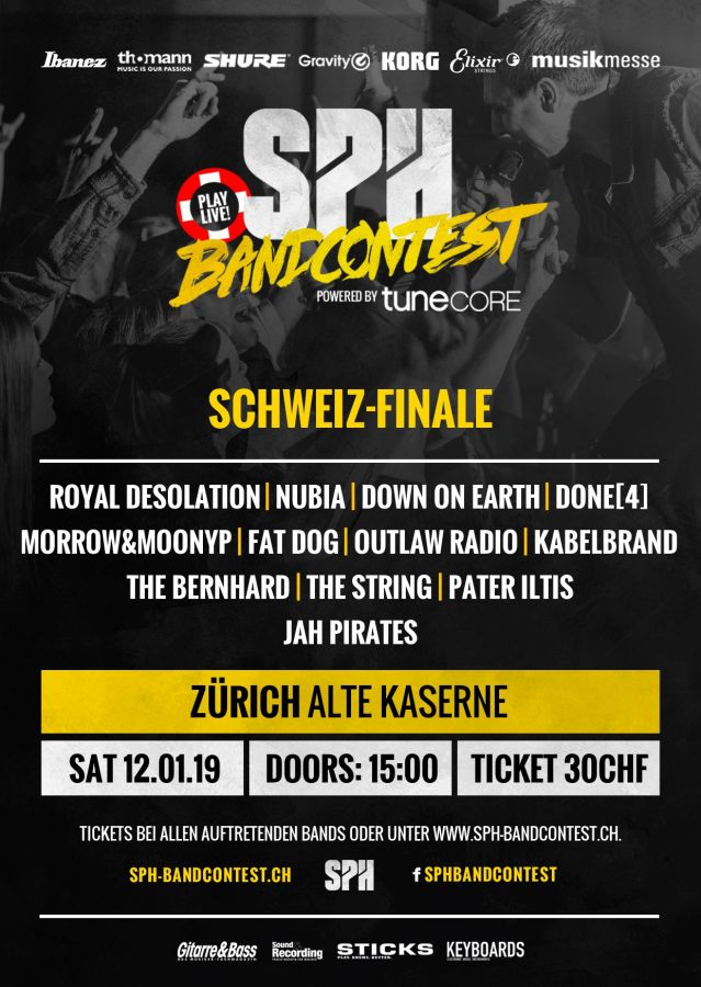 SPH Bandcontest Finale