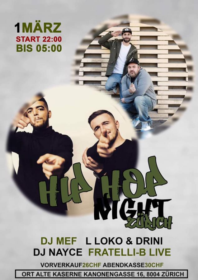 Zürcher Hip-Hop Night