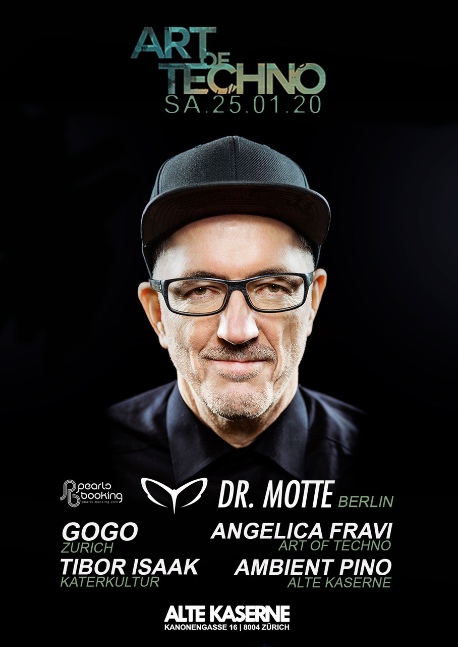 Art of Techno w/ Dr. Motte