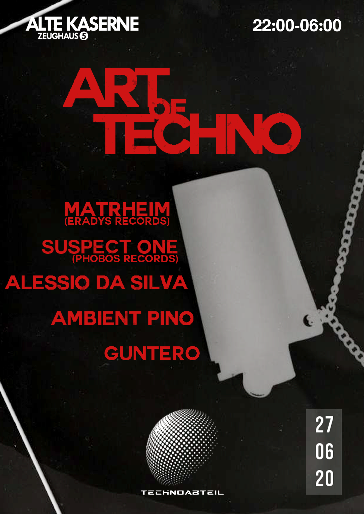 Art of Techno w/ TECHNOABTEIL